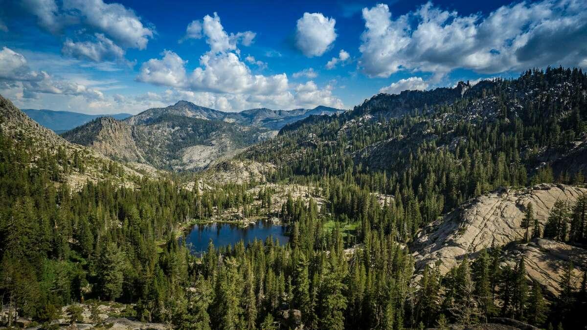 The Desolation Wilderness in El Dorado National Forest in California.