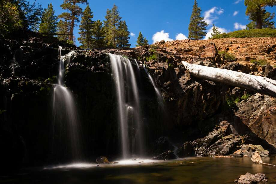 Susie Lake Falls in the Lake Tahoe area. Photo: Ddub3429/Getty Images/iStockphoto