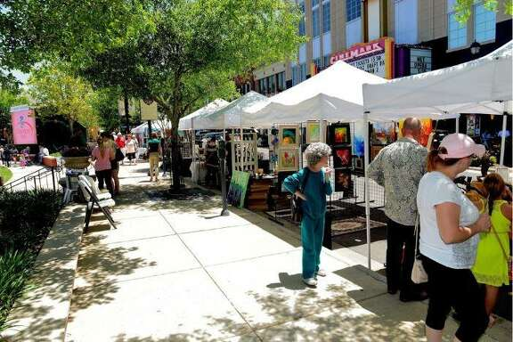 This year's Spring Fine Arts Show at Market Street in The Woodlands is scheduled for May 4 from 10 a.m. to 7 p.m.
