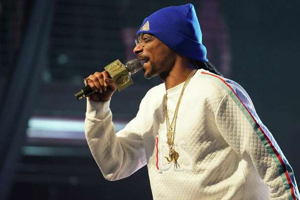 Snoop Dogg performs onstage at Salute the Troops Music and Comedy Festival on March 23, 2019 in Pomona, California.