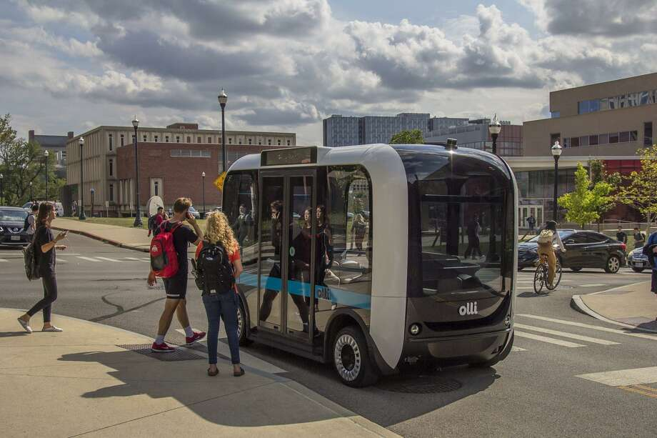 New Haven's driverless test run could be hospital shuttle