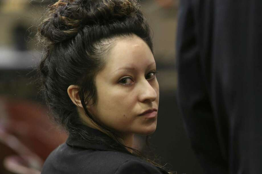 Laura Flores Messick was found guilty and sentenced to life in prison for fatally shooting her Army veteran boyfriend, Chason Montez DeOca, and slashing his neck to make sure he was dead in June 2017. During testimony, no clear motive was established, other than the pair argued and there were some jealousy issues involving the man's ex-wife. Read DeOca's mother's emotional testimony on our subscriber site, ExpressNews.com. Photo: Jerry Lara /Staff Photographer / © 2019 San Antonio Express-News