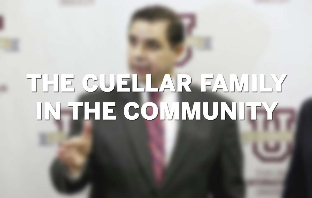 Click through the slideshow to see photos of the Cuellar family in the Laredo Community.
