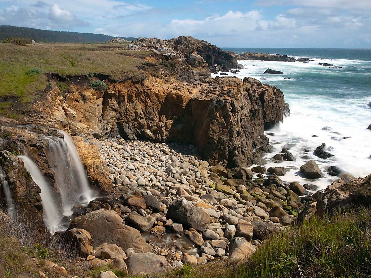 The Coastal Trail at Salt Point Coastal Trail near at the outlet of Chinese Gulch. Snagging a campground at state parks is notoriously difficult.