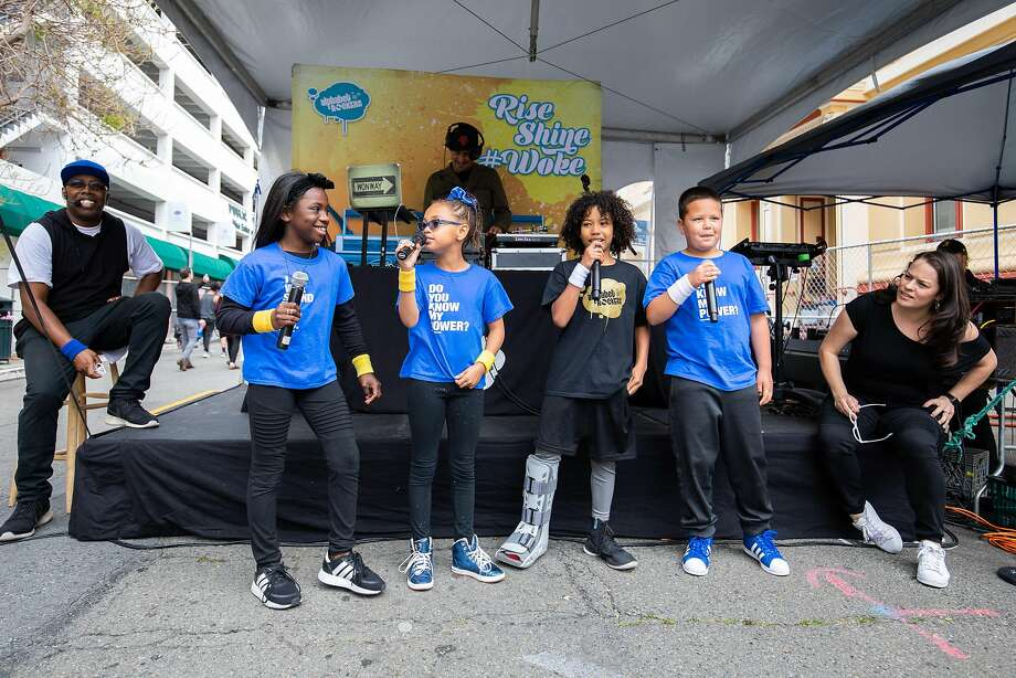 Oakland's Alphabet Rockers will perform twice at the festival's new Word Power Stage at the La Cocina Food Court. Photo: MICHAEL HITCHNER