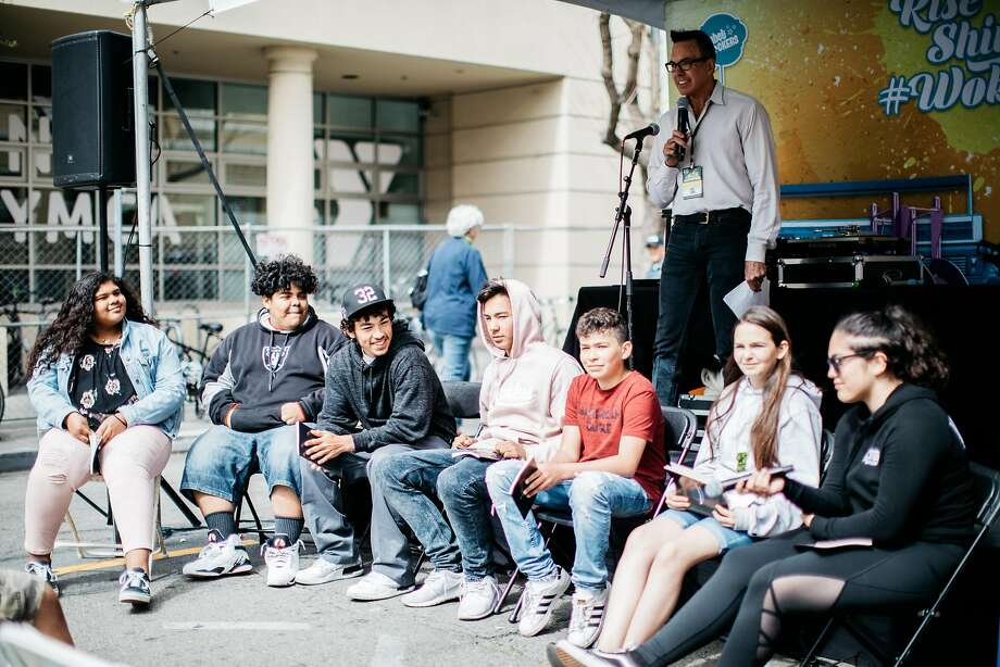 Local Native youth from Sonoma took part in the Graton Writing Project last year. This year, participants will read their work at 3:15 p.m. May 5 on the Word Power Stage. Photo: Jillian Raymundo