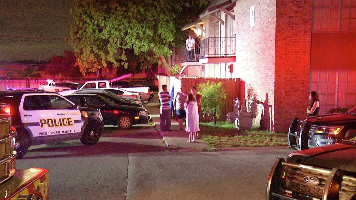 Police responded to the stabbing at 1 a.m. in the 400 block of Vance Jackson Road.