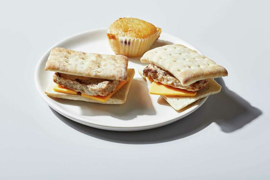 Kraft Heinz announced on April 1 that it would be adding Brunchables, a brunch-themed convenience meal, to its already popular Lunchables line. The real gag arrived the next day, when the company announced that Brunchables were real. Photo: Photo By Tom McCorkle For The Washington Post; Food Styling By The Washington Post's Amanda Soto. / For The Washington Post