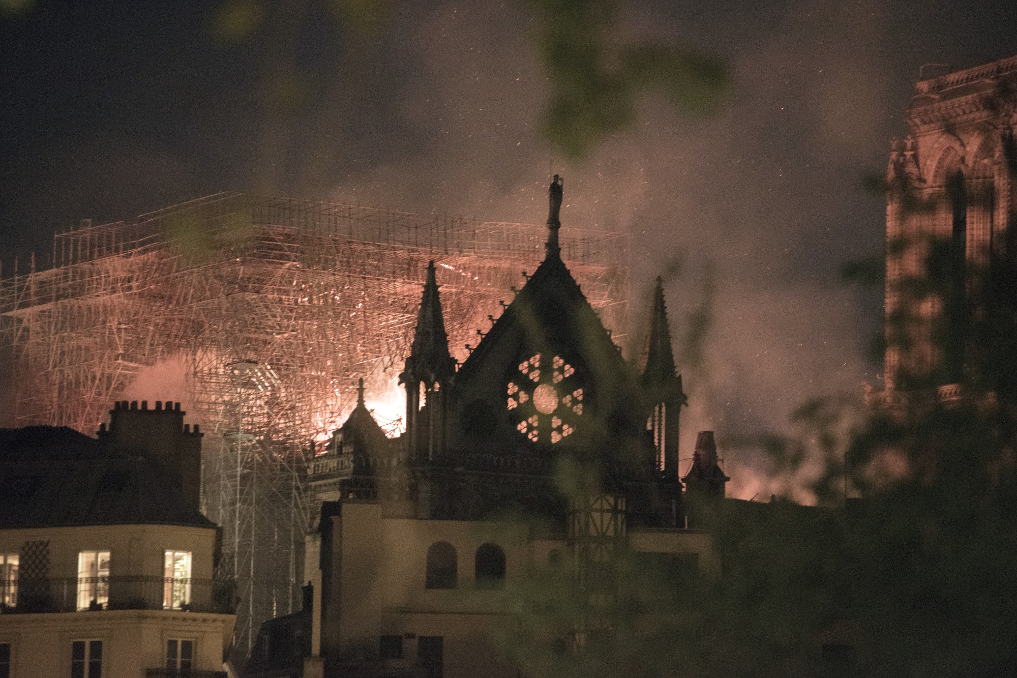 Macron presides over rare unity as France grieves Notre Dame