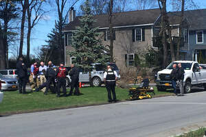 A man is taken into custody after a standoff Tuesday morning at an apartment on Jefferson Street.