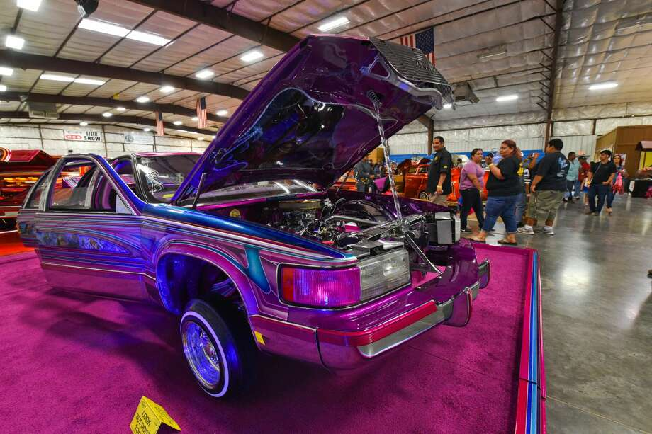 The Brown Impressions Car Club hosted its 40th annual car show Sunday, Apr. 14, 2019, at the L.I.F.E. grounds. Photo: Danny Zaragoza