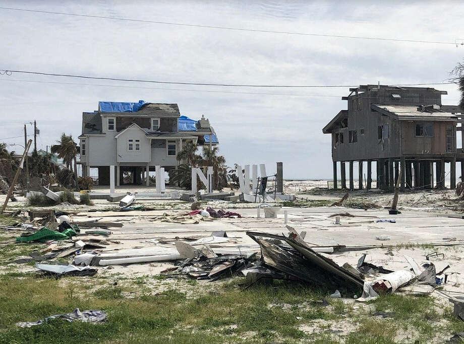 Aftermath of Hurricane Michael in Mexico Beach, Fla., Feb. 24. Photo: Washington Post Photo By Paul Douglas / The Washington Post