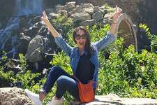 """Paulina Madrazo, a cast member of the Mexico City-based Bravo series """"Mexican Dynasties,"""" visited the amusement park and posted multiple Instagram photos showing her jaunts around San Antonio."""