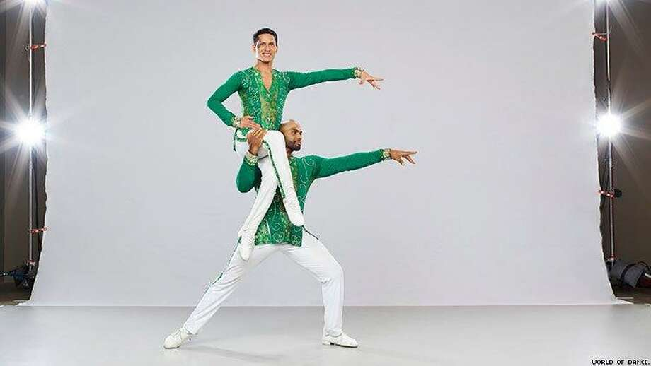 """Jonathan Troncoso and Jorge Valcarcel, the first same-gender couple on NBC's """"World of Dance,"""" are scheduled to perform at the 10th annual St. Jude Fundraiser at the Hilton Stamford Hotel May 26. Photo: CT Salsa Fest / Contributed Photo"""