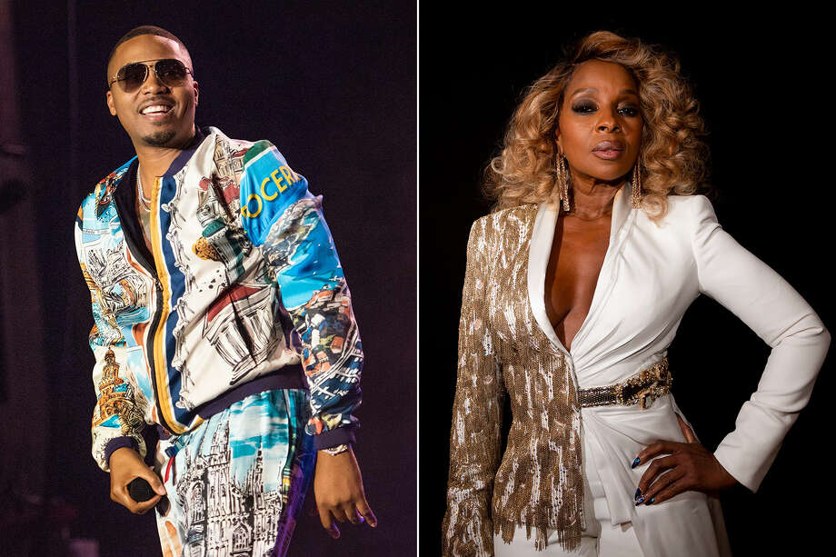 Mary J. Blige and Nas will hit the road for the first time together this summer for a 22-date run, but are skipping the Alamo City.  Photo: RMV/REX/Shutterstock, Jamie Simonds/BAFTA/REX/Shutterstock