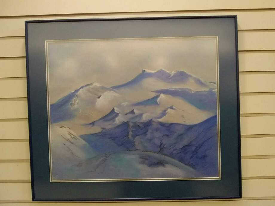 The Seymour Library is showing the work of local artist Barbara Rzasa in April and May. The current pastel drawings on display are the result of a trip to Iceland showing the plants and animals of the region. Photo: Contributed Photo