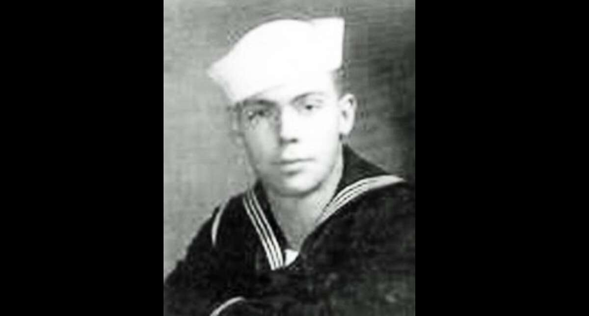 A photograph of Navy Seaman 2nd Class Richard J. Thomson, 19, of League City, Texas. Tuesday, theDefense POW/MIA Accounting Agency announced his remains from World War II had finally been identified.