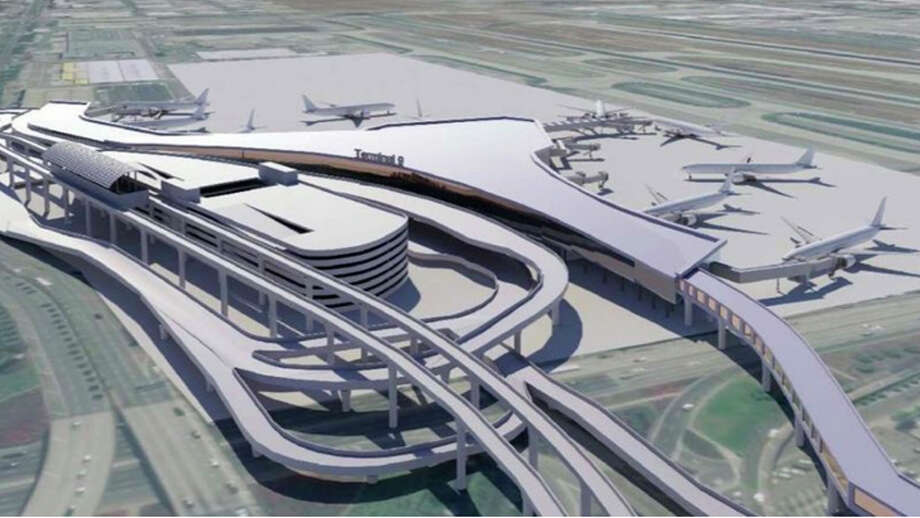 Rendering of Los Angeles International's proposed Terminal 9. Photo: Los Angeles World Airports