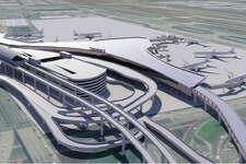 Rendering of Los Angeles International's proposed Terminal 9.