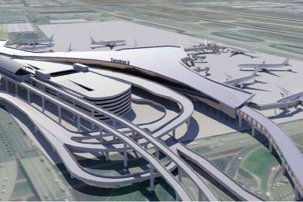 Rendering of Los Angeles International's proposed Terminal 9.