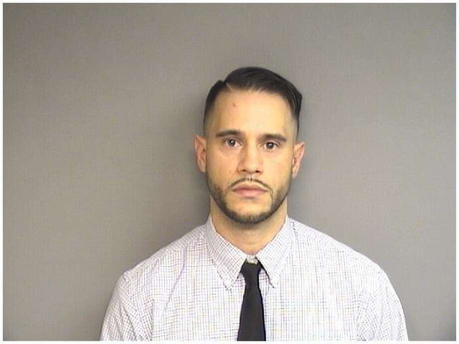 George Christiansen, 29, of Stamford, was charged with second-degree manslaughter in the death of pedestrian Lynette Wagner in Stamford on Jan. 2. Photo: Stamford Police / Contributed