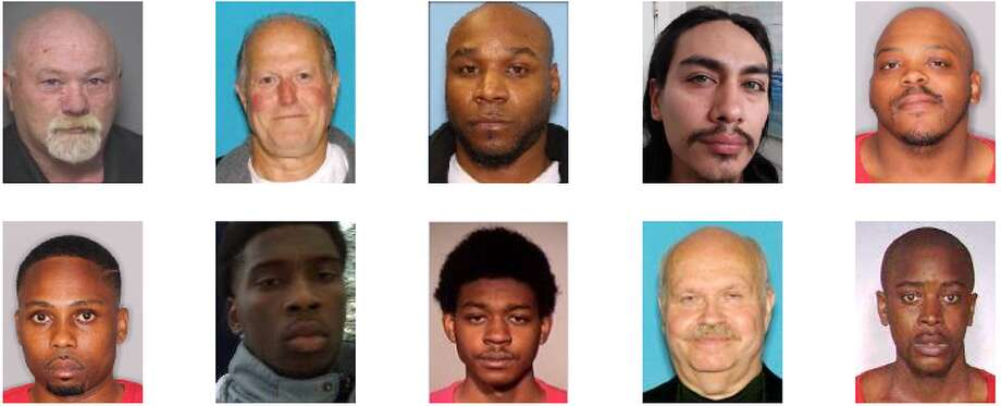 The U.S. Marshals are currently looking for felon who've violated their parole, and those wanted on charges ranging from drug dealing to homicide. Take a look at the state's most wanted. Photo: U.S. Marshals