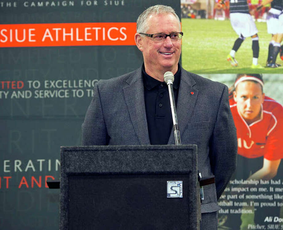 Brad Hewitt has announced his retirement as director of athletics at SIUE effective June 30. Hewitt has been at SIUE for 30 years and has been in charge of the athletic department for the past 17 years. Photo: SIUE Athletics