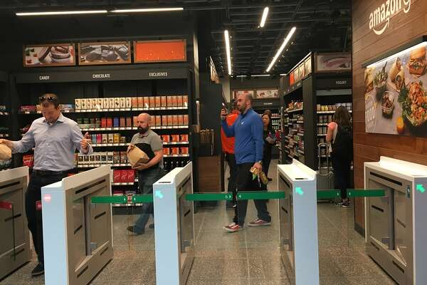 Fourth Amazon Go Store To Open In San Francisco Sfchronicle Com