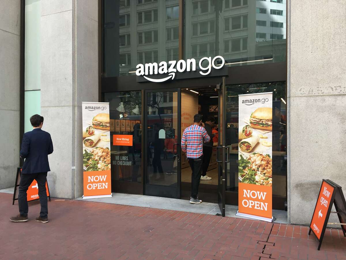 The third Amazon Go store in San Francisco opened on 575 Market Street on April 16, 2019. This marks the Seattle company's 11th Amazon Go storefront overall.