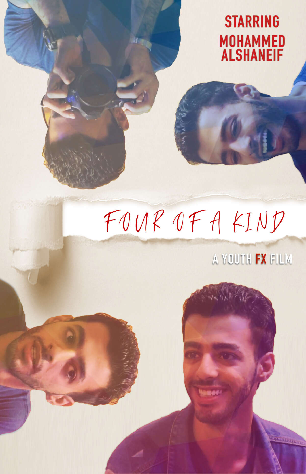 Mohammed Alshaneif, who fled war in Syria and was resettled as a refugee in Albany, is starring in his first film in Youth FX's annual showcase this week.