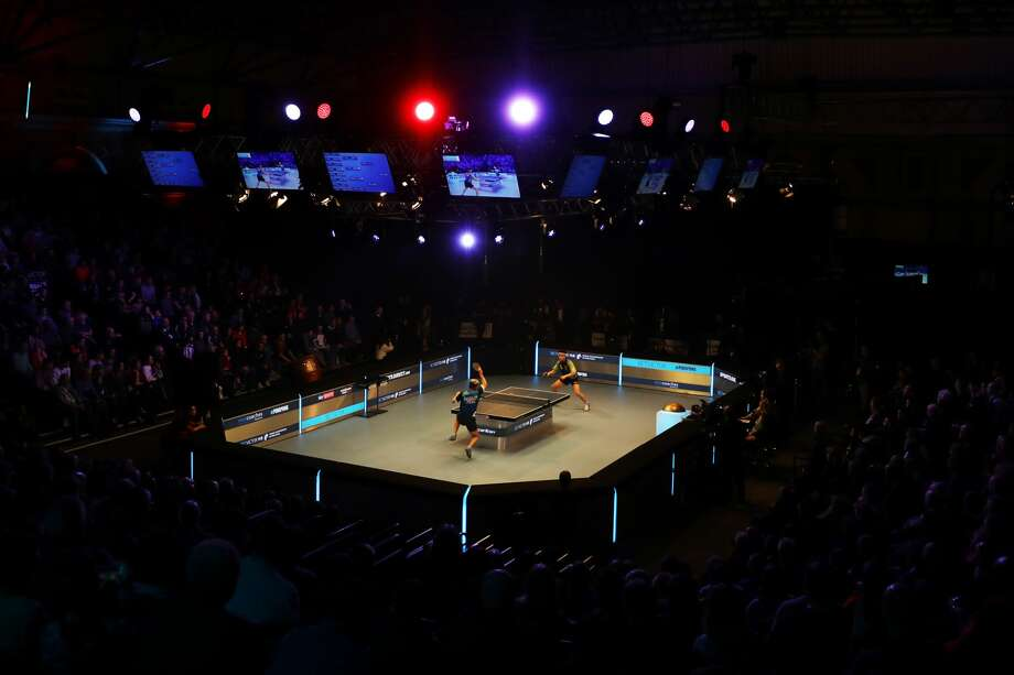 View inside the arena during day two of the BetVictor World Championship of Ping Pong at Alexandra Palace on January 27, 2019 in London, England. >>What can you expect at a table tennis championship? See for yourself in these photos... Photo: Naomi Baker/Getty Images