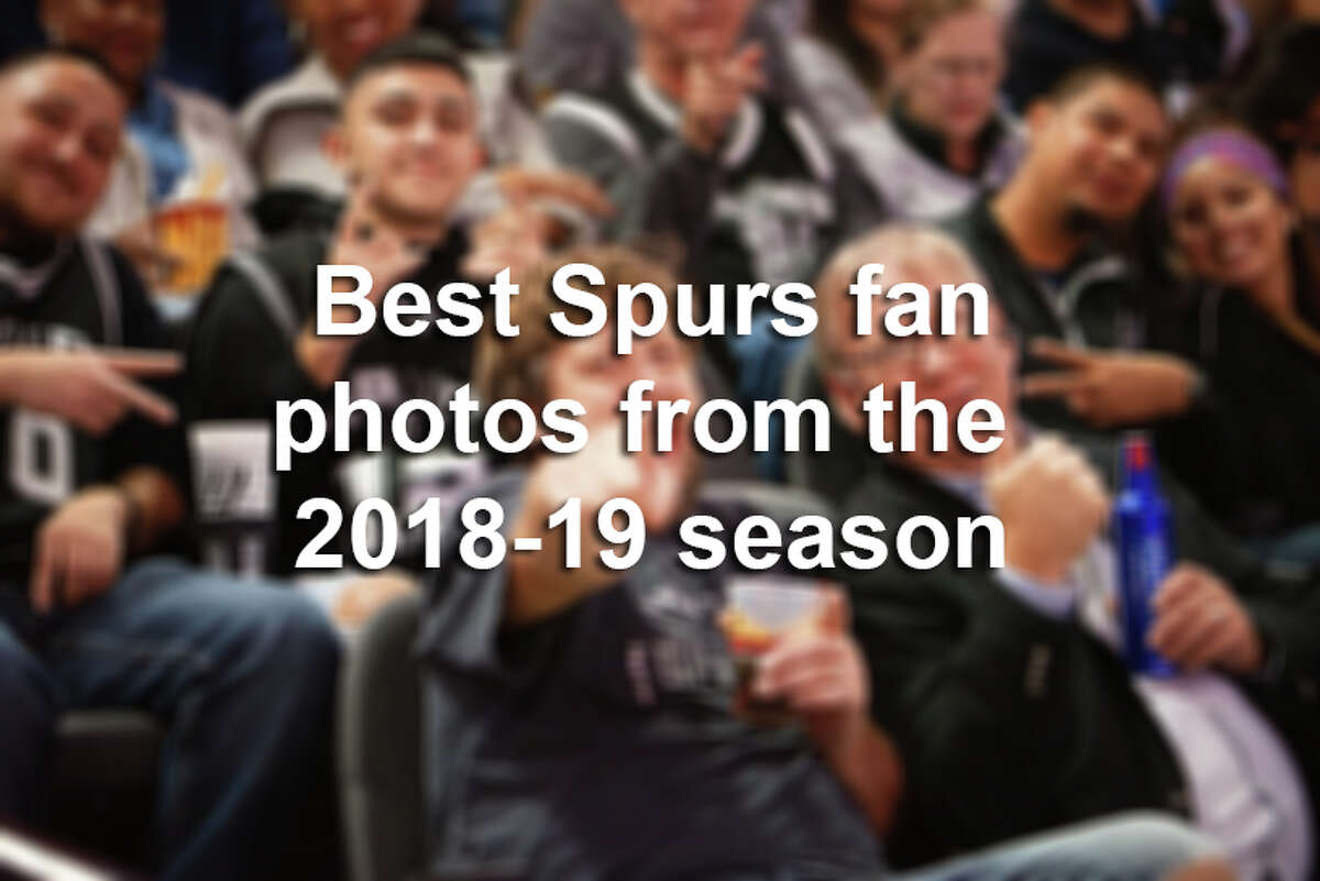 Click ahead to see the best fan photos from Spurs games during the 2018-2019 regular season.