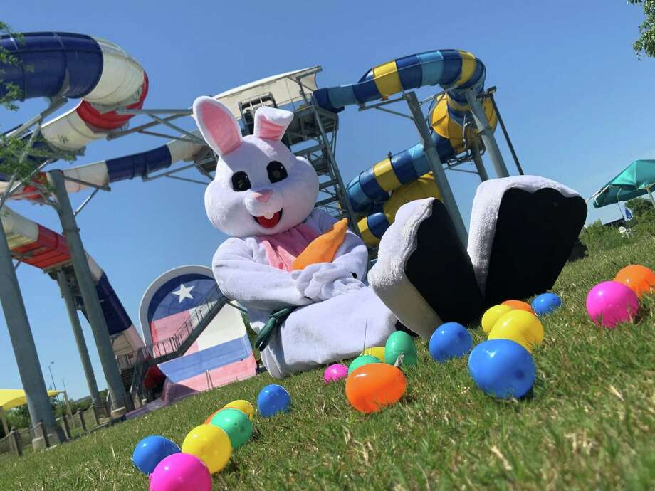 Typhoon Texas,555 Katy Fort Bend Road, will debuts its Easter Egg Hunt Extravaganza on Sunday, April 21, with more than 10,000 eggs, a petting zoo and photos with the Easter Bunny. Photo: Typhoon Texas / Typhoon Texas