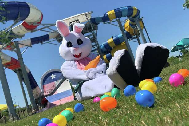Typhoon Texas,555 Katy Fort Bend Road, will debuts its Easter Egg Hunt Extravaganza on Sunday, April 21, with more than 10,000 eggs, a petting zoo and photos with the Easter Bunny.
