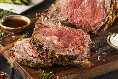 Prime rib Easter at The Palm