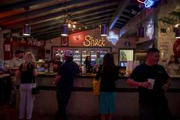 Shack in the Back on Wednesday during the first Party on the Patio of the season. Jacy Lewis/191 News