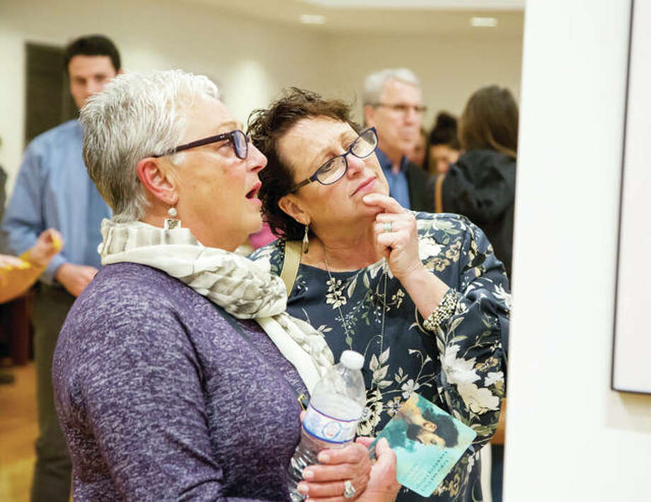The 15th annual L&C Student Art Exhibit was held April 12 in the gallery of the Hatheway Cultural Center. The event featured 106 works from L&C students.