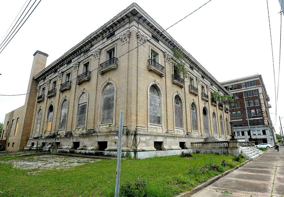 Motiva is in the process of purchasing the historic and long-abandoned Adams and Federal Buildings on Austin Street in downtown Port Arthur. The sites will be used for needed office space near the plant. Motiva expects to move 500 employees into the facilities after renovation and repairs are made. They plan to maintain the exterior to reflect the historic feel of the downtown area. Photo taken Wednesday, April 3, 2019 Kim Brent/The Enterprise Photo: Kim Brent / Kim Brent / The Enterprise / BEN