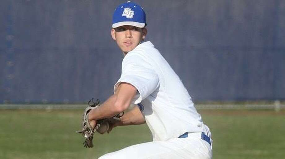 Southern Connecticut State pitcher Quantique White. Photo: Southern Connecticut State Athletics / Stamford Advocate Contributed