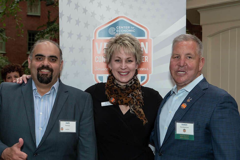 Were you Seen at the Center for Economic Growth's launch of the Veteran Connect Center at the Desmond Hotel and Conference Center in Colonie on April 10, 2019?