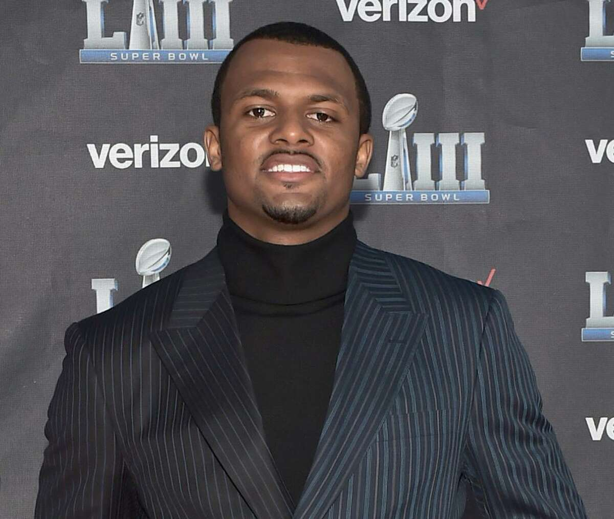 Deshaun Watson got dressed up for the premiere of the documentary