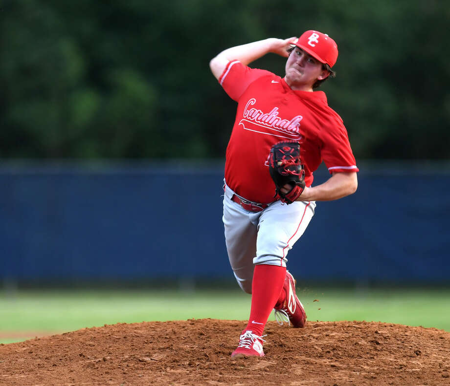 Bridge City's Peyton Havard signed his national letter of intent to play forUniversity of Louisiana at Lafayette. Photo taken Tuesday, 4/16/19 Photo: Guiseppe Barranco / The Enterprise