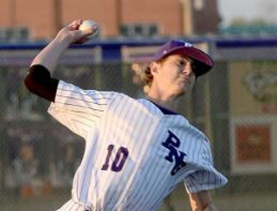 Port Neches-Groves' Grant Rogers threw six strong innings to help his team get the win over Barbers Hill on Tuesday night.Photo taken Tuesday, March 19, 2019 Kim Brent/The Enterprise Photo: Kim Brent / The Enterprise