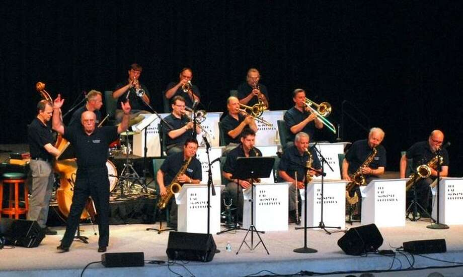 The Hal McIntyre Band, performing big band music, will appear in the performing arts center at Middletown High School on April 27. Photo: Hal McIntyre Band / Contributed Photo