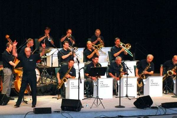 The Hal McIntyre Band, performing big band music, will appear in the performing arts center at Middletown High School on April 27.