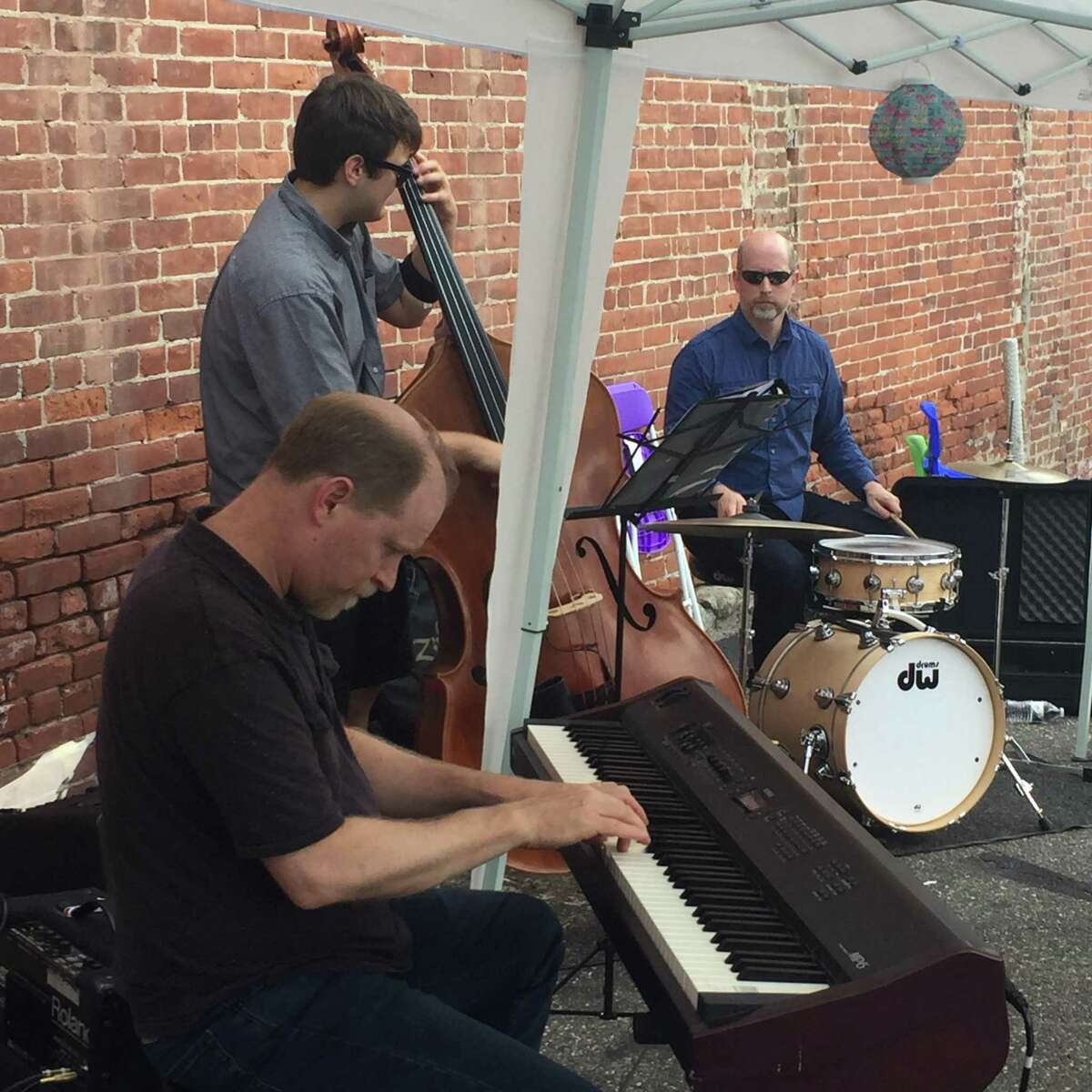 Make Music Day 2019 returns to Torrington and area communities the weekend of June 21. Participants and facilitators to run events and programs are needed. Above, a band performs during the 2018 event.