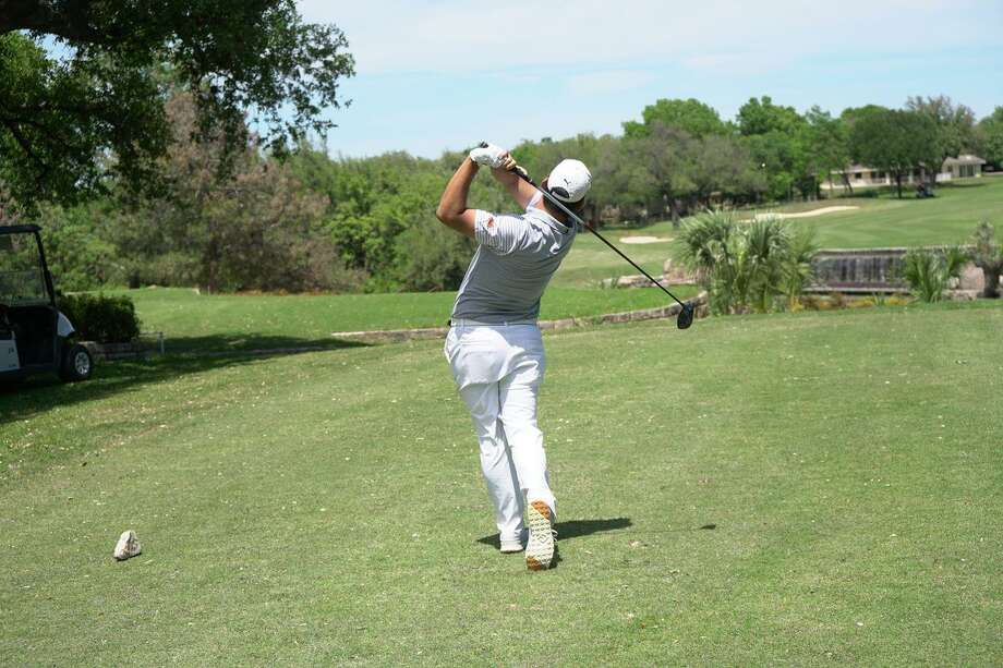The TAMIU golf team finished in fifth place at the Heartland Conference Championships with a three-round total of 871 at the Slick Rock Golf Club. Photo: Courtesy Of TAMIU Athletics /file