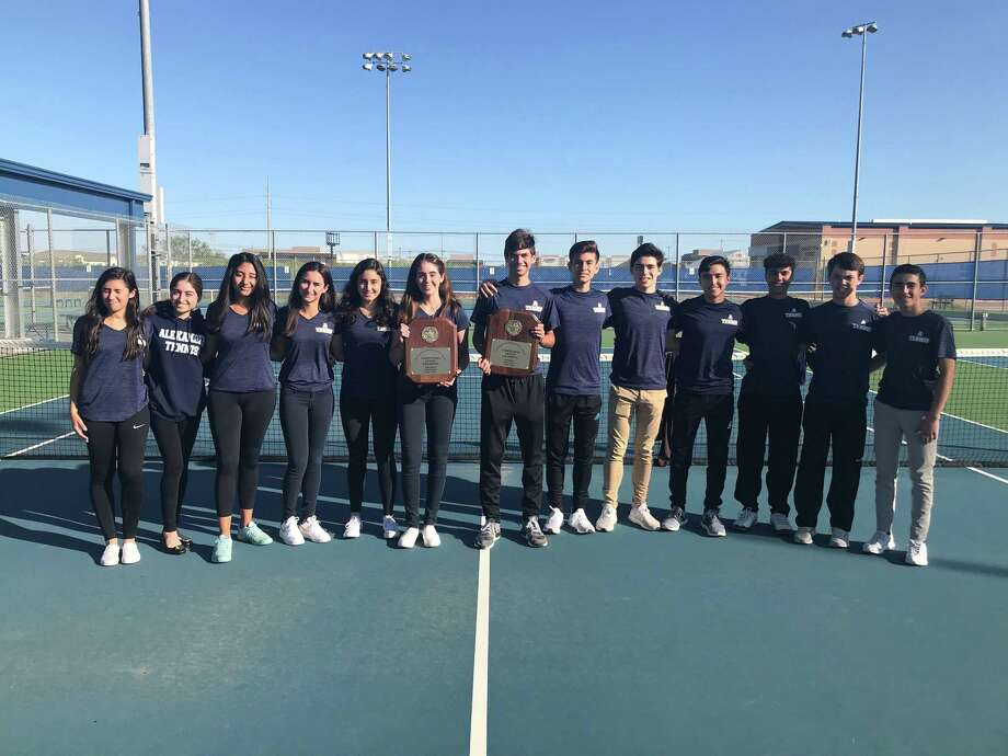 The Alexander tennis teams will compete in the Region IV-6A tournament  Wednesday after both teams won the District 29-6A title last week. Photo: Courtesy Of Alexander Athletic