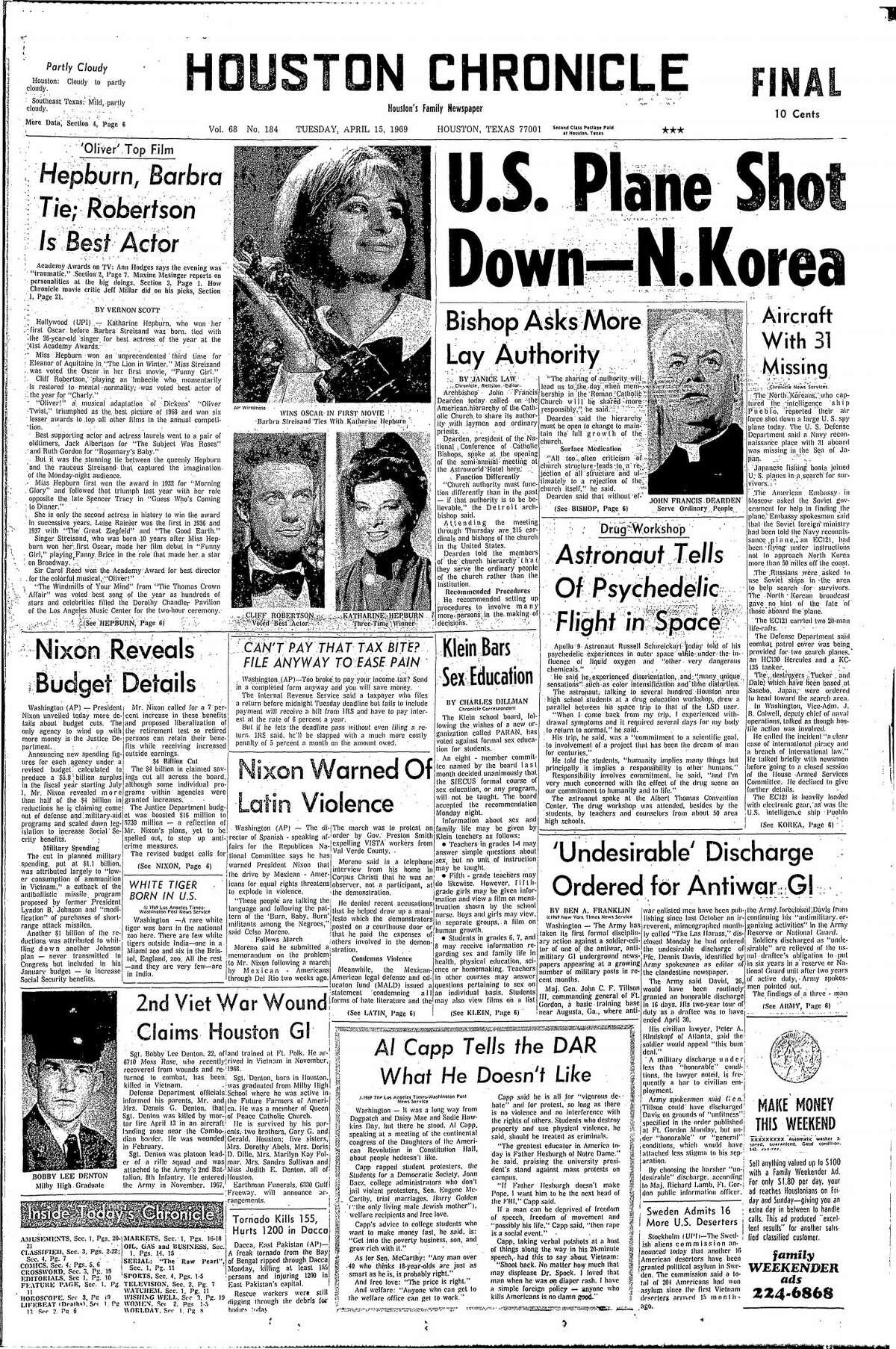 April 15, 1969