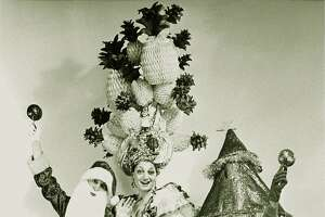 """The first incarnation of """"Beach Blanket Babylon"""" featured (l to r) Roberta Bleiweiss, Nancy Bleiweiss and Steve Silver"""
